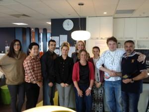 Joseph Korbel with CCAFP Team